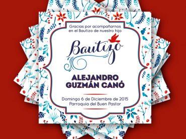 Bautizo Alejandro