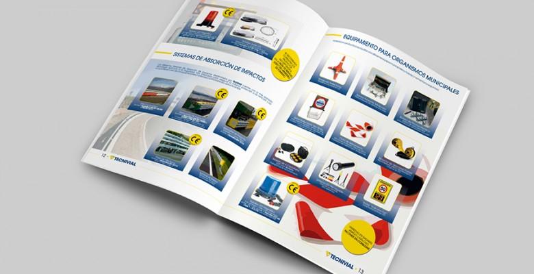 <p>Catálogo Comercial de Tecnivial SA</p>